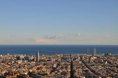 Βαρκελώνη Στοκ φωτογραφία με δικαίωμα ελεύθερης χρήσης