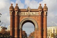 Βαρκελώνη Arc de Triomf Στοκ εικόνες με δικαίωμα ελεύθερης χρήσης