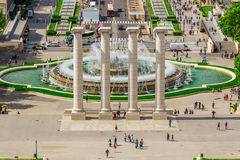 Βαρκελώνη Attractions Plaza de Espana Καταλωνία, Ισπανία Στοκ φωτογραφίες με δικαίωμα ελεύθερης χρήσης