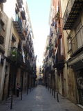 Βαρκελώνη, Barri Gotic Στοκ φωτογραφία με δικαίωμα ελεύθερης χρήσης