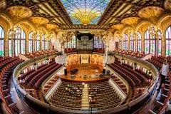 Βαρκελώνη catalana de Λα musica Palau Στοκ Φωτογραφίες