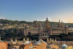 Βαρκελώνη ciy Στοκ εικόνα με δικαίωμα ελεύθερης χρήσης