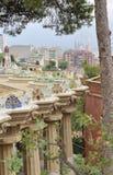 Βαρκελώνη guell parc Στοκ Φωτογραφίες