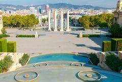 Βαρκελώνη Plaza της Ισπανίας Στοκ φωτογραφία με δικαίωμα ελεύθερης χρήσης