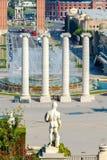 Βαρκελώνη Plaza της Ισπανίας Στοκ εικόνα με δικαίωμα ελεύθερης χρήσης