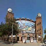 Βαρκελώνη - Plaza de Toros Monumental Στοκ εικόνες με δικαίωμα ελεύθερης χρήσης