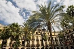 Βαρκελώνη & x28 Spain& x29: Βασιλικό τετράγωνο Στοκ εικόνες με δικαίωμα ελεύθερης χρήσης