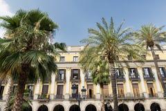 Βαρκελώνη & x28 Spain& x29: Βασιλικό τετράγωνο Στοκ φωτογραφία με δικαίωμα ελεύθερης χρήσης