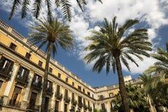 Βαρκελώνη & x28 Spain& x29: Βασιλικό τετράγωνο Στοκ Εικόνα
