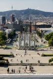 Βαρκελώνη & x28 Spain& x29: Montjuic Στοκ φωτογραφίες με δικαίωμα ελεύθερης χρήσης