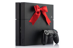ΒΑΡΝΑ, Βουλγαρία - 18 Νοεμβρίου 2016: Sony PlayStation 4 παιχνίδι con Στοκ φωτογραφία με δικαίωμα ελεύθερης χρήσης