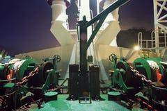 Βαρούλκο σκαφών μπροστινό Στοκ Φωτογραφίες