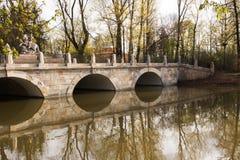 Βαρσοβία Βασιλικό πάρκο Lazienki Στοκ Εικόνες