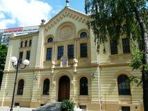 Βαρσοβία, Πολωνία-παλαιά συναγωγή στοκ φωτογραφίες