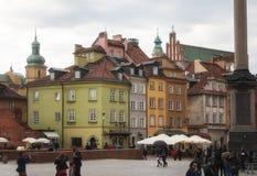 Βαρσοβία, Πολωνία, στις 21 Απριλίου 2019 - οδοί στη Βαρσοβία, περίπατος μέσω της παλαιάς πόλης στοκ φωτογραφίες με δικαίωμα ελεύθερης χρήσης