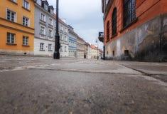 Βαρσοβία, Πολωνία, στις 21 Απριλίου 2019 - οδοί στη Βαρσοβία, περίπατος μέσω της παλαιάς πόλης στοκ εικόνες