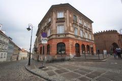 Βαρσοβία, Πολωνία, στις 21 Απριλίου 2019 - οδοί στη Βαρσοβία, περίπατος μέσω της παλαιάς πόλης στοκ φωτογραφία