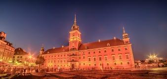 Βαρσοβία, Πολωνία: Πλατεία του Castle και το βασιλικό Castle, Zamek Krolewski W Warszawie Στοκ φωτογραφίες με δικαίωμα ελεύθερης χρήσης