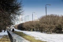 Βαρσοβία, Πολωνία Στοκ φωτογραφία με δικαίωμα ελεύθερης χρήσης