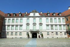 Βαρσοβία το βασιλικό Castle Στοκ φωτογραφία με δικαίωμα ελεύθερης χρήσης