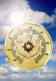 βαρόμετρο παλαιό Στοκ εικόνα με δικαίωμα ελεύθερης χρήσης