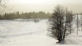 Βαρύς αέρας και χιονοπτώσεις φιλμ μικρού μήκους