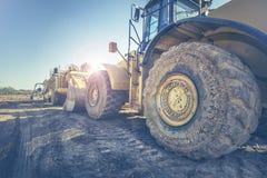 Βαρύς εξοπλισμός κατασκευής βιομηχανίας Στοκ Εικόνες