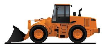 βαρύς φορτωτής εξοπλισμ&omic ελεύθερη απεικόνιση δικαιώματος