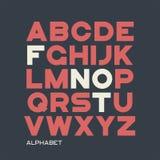 Βαρύς χωρίς το σχέδιο χαρακτήρων πατουρών Διανυσματικό αλφάβητο, επιστολές, πηγή ελεύθερη απεικόνιση δικαιώματος