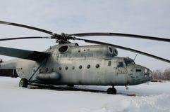 Βαρύ ελικόπτερο μεταφορών Στοκ Φωτογραφίες
