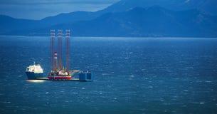 Βαρύ σκάφος ανελκυστήρων Στοκ Φωτογραφίες