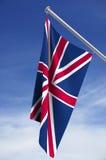 βασίλειο σημαιών που ενών Στοκ Εικόνες