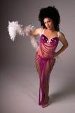 βασίλισσα έλξης showgirl στοκ φωτογραφία με δικαίωμα ελεύθερης χρήσης