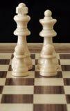 βασίλισσα βασιλιάδων σκακιού Στοκ Φωτογραφίες