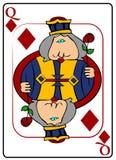 βασίλισσα διαμαντιών Στοκ φωτογραφία με δικαίωμα ελεύθερης χρήσης