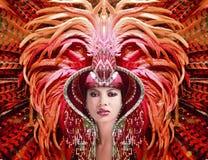 βασίλισσα καρναβαλιού στοκ εικόνα