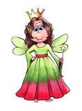 Βασίλισσα νεράιδων Στοκ Εικόνα