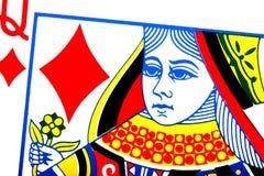 βασίλισσα διαμαντιών Στοκ Εικόνες