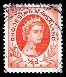 Βασίλισσα Elizabeth II 1954/56, serie, circa 1956 στοκ εικόνες με δικαίωμα ελεύθερης χρήσης
