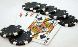 βασίλισσες πόκερ Στοκ Εικόνα