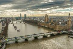 βασίλειο Λονδίνο παλαιά ενωμένη πύργος Βικτώρια οικοδόμησης στοκ φωτογραφίες με δικαίωμα ελεύθερης χρήσης