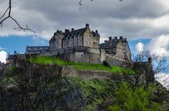 βασίλειο Σκωτία του Εδιμβούργου κάστρων που ενώνεται στοκ φωτογραφίες με δικαίωμα ελεύθερης χρήσης