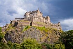 βασίλειο Σκωτία του Εδιμβούργου κάστρων που ενώνεται στοκ εικόνα