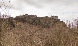 βασίλειο Σκωτία του Εδιμβούργου κάστρων που ενώνεται Στοκ Φωτογραφίες
