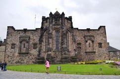 βασίλειο Σκωτία του Εδιμβούργου κάστρων που ενώνεται Στοκ εικόνα με δικαίωμα ελεύθερης χρήσης