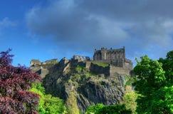 βασίλειο Σκωτία του Εδιμβούργου κάστρων που ενώνεται στοκ εικόνες