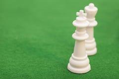 Βασίλισσα και βασιλιάς σκακιού Στοκ φωτογραφία με δικαίωμα ελεύθερης χρήσης