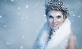 Βασίλισσα πάγου Στοκ εικόνες με δικαίωμα ελεύθερης χρήσης