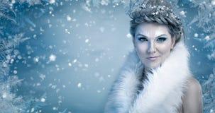 Βασίλισσα πάγου Στοκ φωτογραφία με δικαίωμα ελεύθερης χρήσης