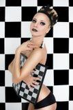 Βασίλισσα σκακιού Στοκ φωτογραφίες με δικαίωμα ελεύθερης χρήσης